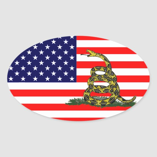 No pise en Los E.E.U.U. Pegatina Ovalada