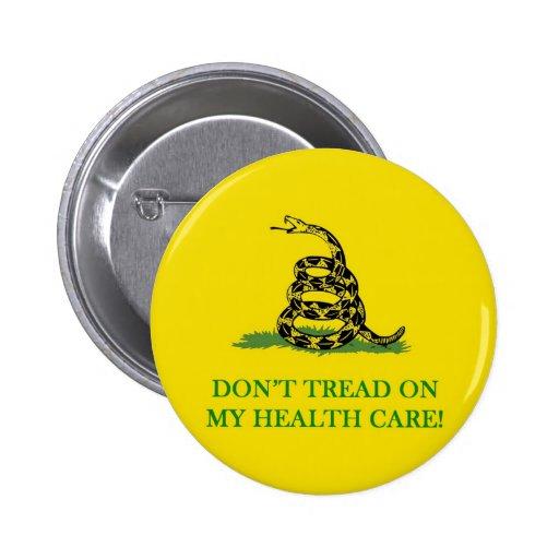 no pise en mi atención sanitaria obama pins