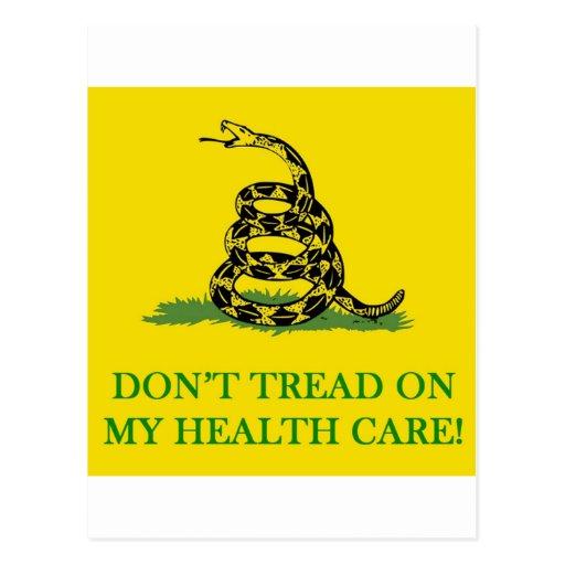 no pise en mi atención sanitaria obama postal
