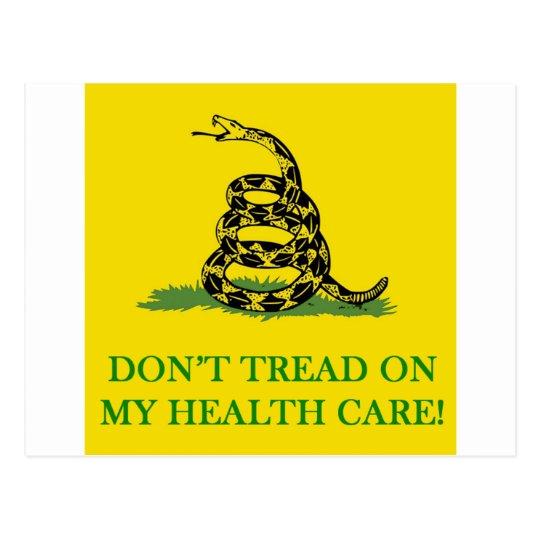 no pise en mi atención sanitaria obama postales