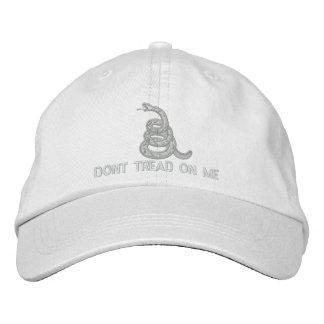 No pise en mí bordó el gorra gorras bordadas