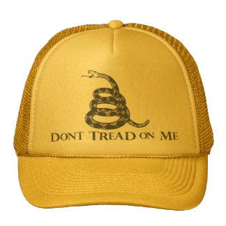 No pise en mí el gorra