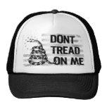 No pise en mí el gorra del camionero