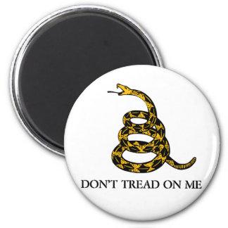 No pise en mí el imán de la serpiente