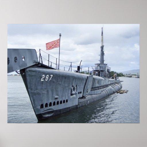 NO PISE EN MÍ - EL SUBMARINO DE USS BOWFIN POSTERS