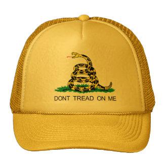 No pise en mí gorra