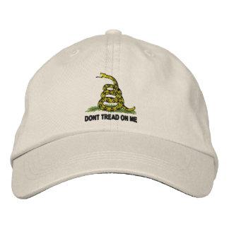 No pise en mí gorra de beisbol