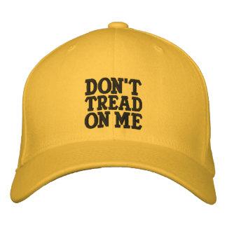 No pise en mí gorras de beisbol bordadas