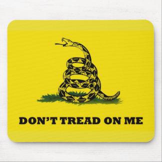 No pise en mí la bandera alfombrilla de raton
