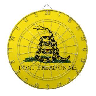 No pise en mí la bandera americana de Gadsden