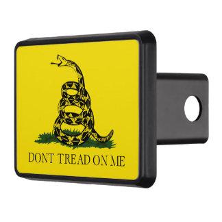 No pise en mí la bandera americana de Gadsden Tapas De Remolque