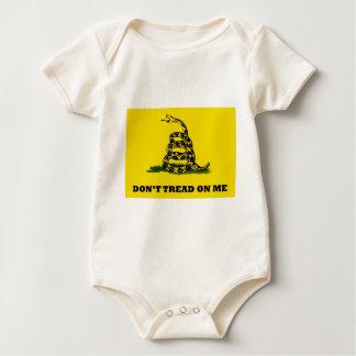 No pise en mí la bandera body para bebé