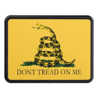 No pise en mí la bandera de Gadsden del vintage Tapa De Tráiler