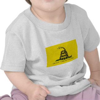NO PISE EN MÍ, la bandera de Gadsden Camiseta