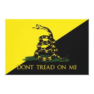 No pise en mí la bandera del anarquista lona envuelta para galerias