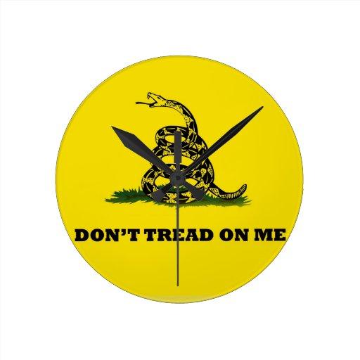 No pise en mí la bandera del gadston reloj