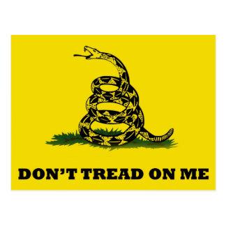 No pise en mí la bandera postal