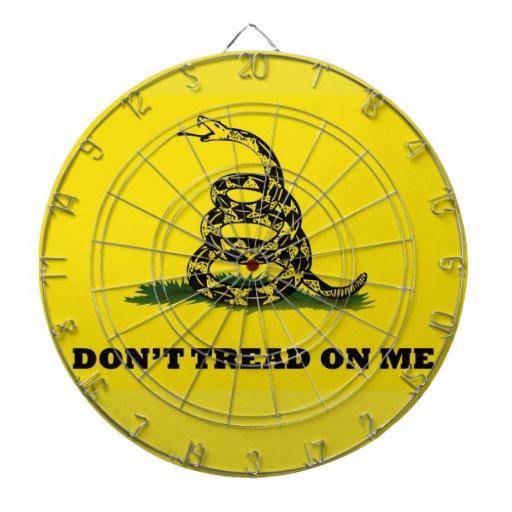 No pise en mí la bandera tabla dardos