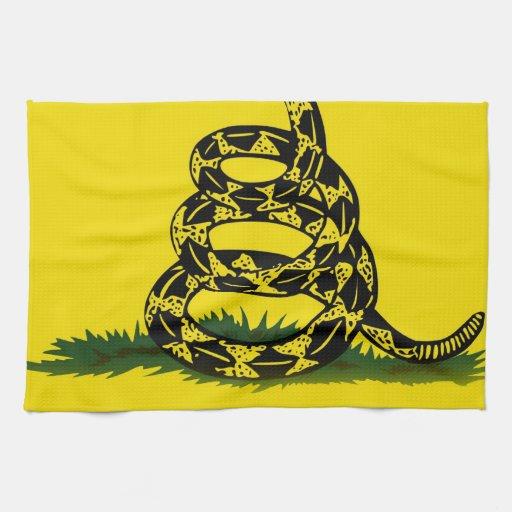 No pise en mí la bandera toallas