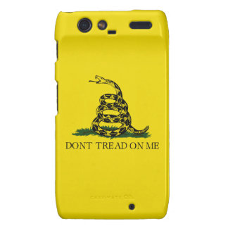 No pise en mí la caja de Droid RAZR Motorola Droid RAZR Fundas
