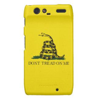 No pise en mí la caja de Droid RAZR Funda Para Motorola Droid RAZR