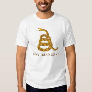 No pise en mí la camiseta de la serpiente polera