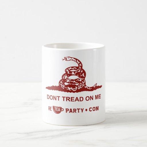 No pise en mí la taza de la fiesta del té