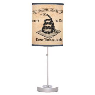No pise en mí lámpara de escritorio