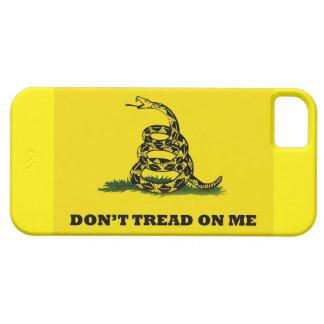 No pise en mí las cajas del teléfono iPhone 5 carcasas
