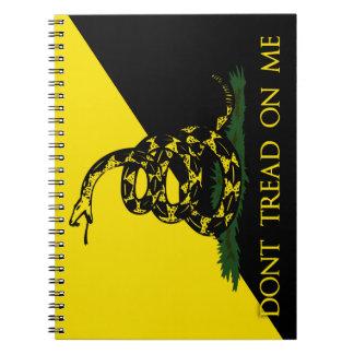 No pise en mí notebook