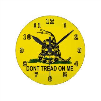 no pise en mí reloj redondo mediano
