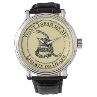 No pise en mí relojes de pulsera