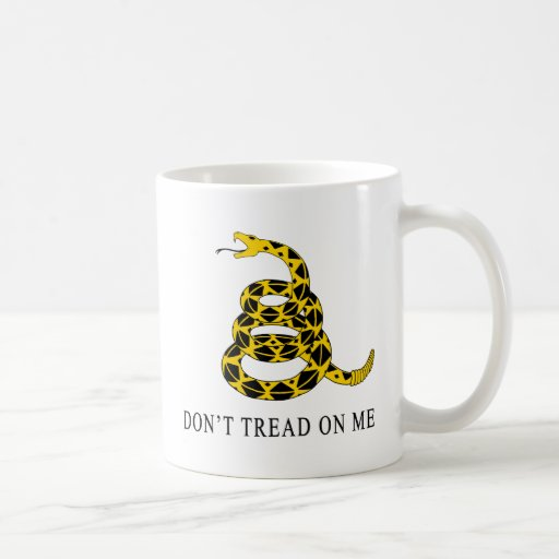 No pise en mí taza