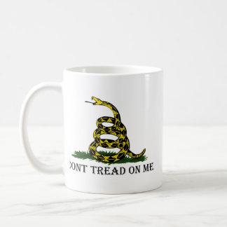 No pise en mí tazas de café