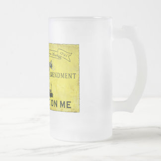 No pise en mí taza cristal mate