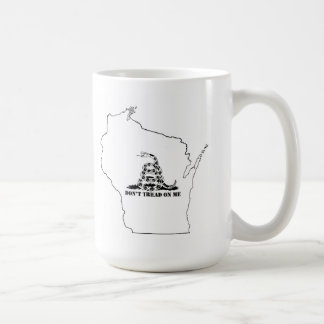 No pise en Wisconsin Taza Clásica