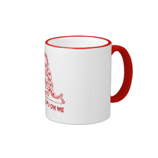 No pise - la taza roja