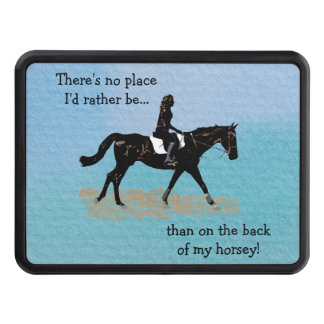 No Place I'd Rather Be - Equestrian Horse Hitch Covers