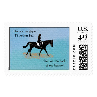 No Place I'd Rather Be - Equestrian Horse Postage