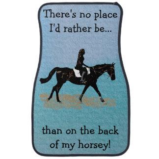 No Place I'd Rather Be - Equestrian Horse Floor Mat