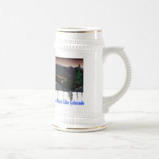 No Place Like Colorado Beer Stein Coffee Mug