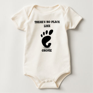 No Place Like GNOME Baby Bodysuit