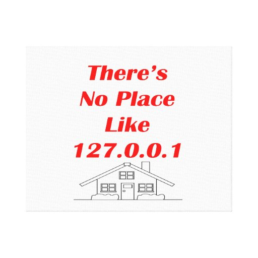 no place like home gallery wrap canvas