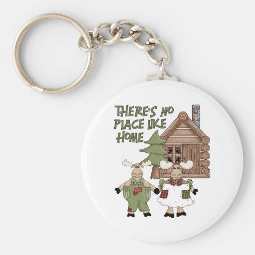 No Place Like Home Keychain