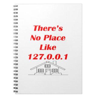 no place like home notebook