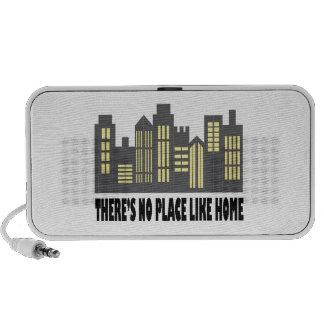 No Place Like Home Notebook Speakers