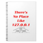 no place like home spiral note books