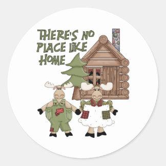 No Place Like Home Stickers