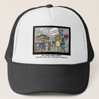 No Place Like Homeopathy Funny Cartoon Gifts & Tee Trucker Hat