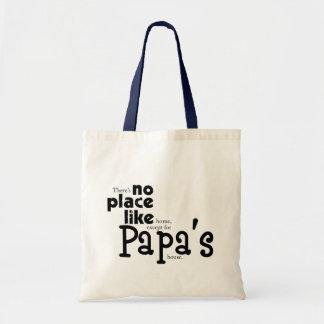 No Place Like Papa's Bag